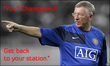 Alex Ferguson, Manchester United.