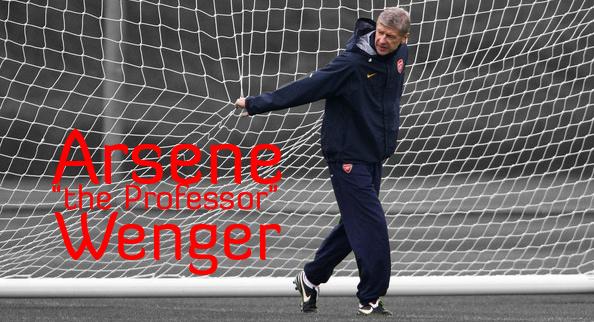 """Arsene """"the Professor"""" Wenger"""