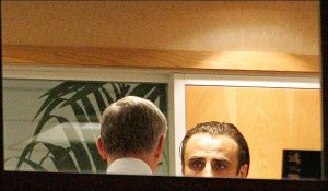 Man Utd have gone for the discrete option of using the window to Sir Alex's office at Olt Trafford (pictured here during the Berba signing last season) This is so to not upset Europe and Brazil as he nabs young starlet after young starlet.