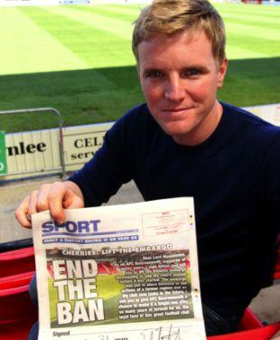 Time to smile for Eddie Howe