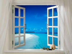 "Man City have gone to the extravagance of installing an ocean and a white sanded beach outside of their window overlooking the car park at Eastlands..this is in aid to attract even higher class signings after Kaka commented he would have joined them ""if the place had not looked like a shithole"". The ocean view cost £1 billion to install. The window is made from the ivory of a real dinosaur, excavated for the project"