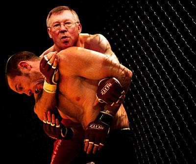 alex-ferguson-cage-wrestler