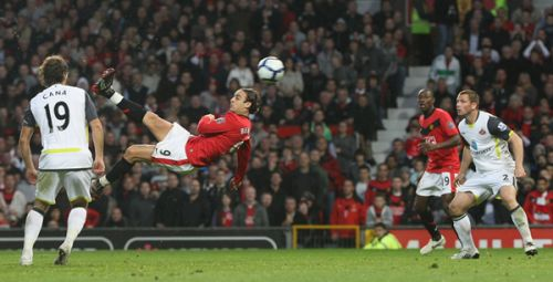 berbatov's acrobatic equaliser