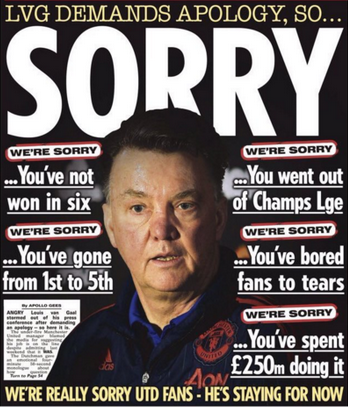 The Sun Apology LVG